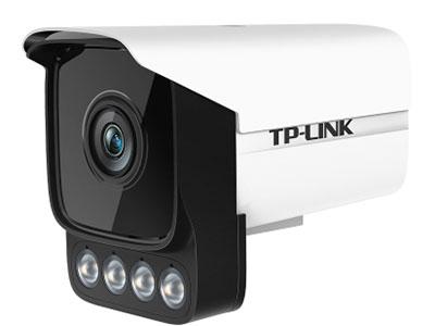 """TP-LINK  TL-IPC534H-WB4/WB6 """"黑光全彩网络摄像机; 采用黑光级图像传感器和F1.0大光圈头,低照度还原全彩画面; 外置四颗大功率暖光灯,日夜全彩; 支持智能周界防范,包括越界侦测和区域入侵;"""""""