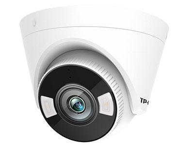TP-LINK  TL-IPC435H-A2.8/4 H.265 300万人员警戒网络摄像机,支持H.265+智能编码,每天只需9-11G;内置两颗高效红外灯、两颗报警灯,红外夜视距离50米;内置麦克风、扬声器,支持远场拾音;支持外接音频输出设备,报警输入、输出设备;支持智能事件人员识别算法,检测到可疑入侵人员,主动开启声光报警;内置十余种个性语音提示,支持自定义报警音;支持NVR进项人员事件检索,快速查询到可疑人员录像;IP67级防尘防水;支持APP远程;支持跨网段添加;最大支持128G内存卡