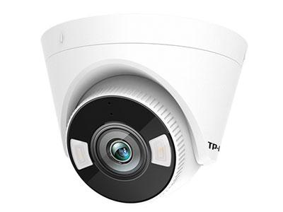 TP-LINK TL-IPC445H-A2.8/4 H.265 400万人员警戒网络摄像机,支持H.265+智能编码,每天只需9-11G;内置两颗高效红外灯、两颗报警灯,红外夜视距离50米;内置麦克风、扬声器,支持远场拾音;支持外接音频输出设备,报警输入、输出设备;支持智能事件人员识别算法,检测到可疑入侵人员,主动开启声光报警;内置十余种个性语音提示,支持自定义报警音;支持NVR进项人员事件检索,快速查询到可疑人员录像;IP67级防尘防水;支持APP远程;支持跨网段添加;最大支持128G内存卡