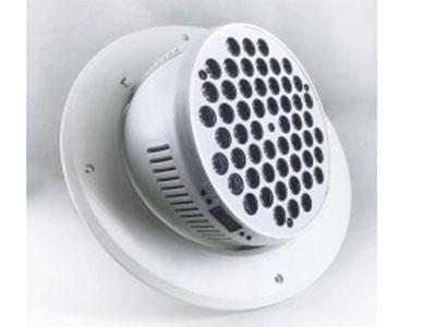 """美辉  嵌入式帕灯MH-Q5403 """"电压:AC90V-240v,50/60HZ  功率:150W 光源:54颗3W灯珠 通道:4-6CH """"""""外壳颜色:白色出光角度可调 开孔大小255mm"""""""