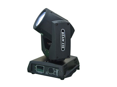 """美辉  230光束灯MH-Bam230A """"光源:欧司朗 7R 230W  输入电压:AC90-240V 50/60HZ 消耗功率:350W (380W) 控制协议:DMX512 通道模式:16CH 镜头:嘉米基三合一高精度光学镜头组 调光:0-100\%线性 频闪:双侧刀频闪频率最高可以13次每秒,并可选择随机频闪及脉冲频闪 棱镜:8棱镜加旋转棱镜效果 调焦:电子调焦 雾化:0\%-100\%雾化 光束角度:水平光束角0-3.9°,20米处,50000LUX 水平扫描:540°(160bit精度扫描)电子纠错 垂直扫"""