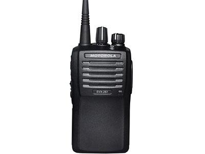 摩托罗拉系统EVX-261  VHF/UHF便携式DMR数字对讲机