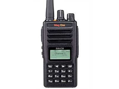 摩托罗拉EVX-C59 数字便携式对讲机商用民用物业酒店手台操作简单易用高效通话