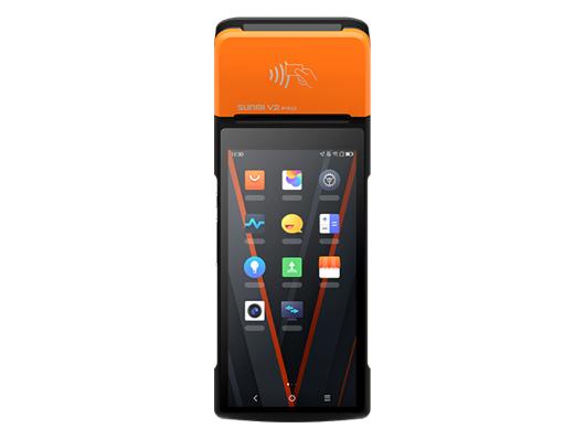 商米 V2 PRO 手持收银机 敢于创新,开启商用全面屏、双打印时代