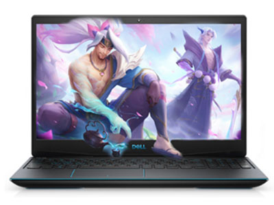戴尔  G3-3500-2642BL   I5-10200H/8G X1 /512固态/GTX1650TI 4G(G6) 15.6 45色域,250nits,120HZ 电竟,蓝色背光键盘 / 3-芯电池, 51 瓦时