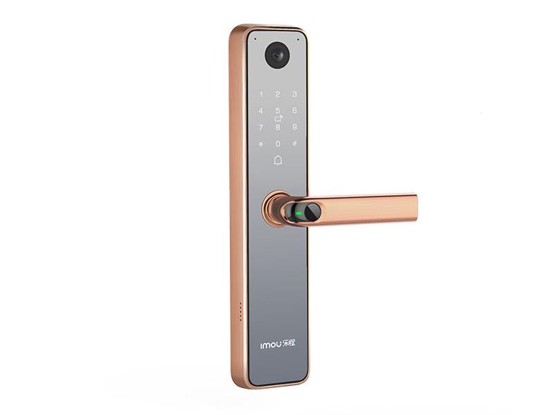 大户乐橙 V6-三维感官视频锁 指纹开锁 密码开锁 APP远程开锁 智能卡开锁 钥匙开锁