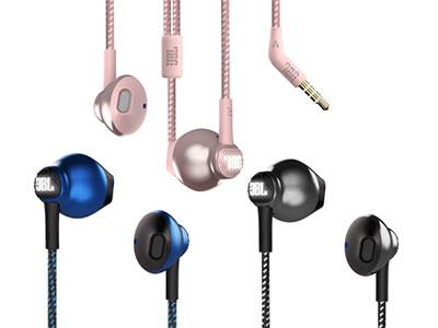 JBL KMP10H驱动器尺寸:12.5mm 动态频率相应范围:30Hz-29KHz 插头尺寸:3.5mm 编织线长:2.5米 半入耳式监听有线耳机 2.5米防缠绕线缆,满足长距离多场合需求 3.5MM接口,兼容市场大部分数码产品 独有JBL logo灯光设计 超质感时尚外观 配色:极夜黑,深海蓝,樱花粉