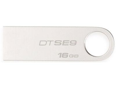 金士顿 DTSE9 纯金属 USB2.0 16G 32G 64G 128G
