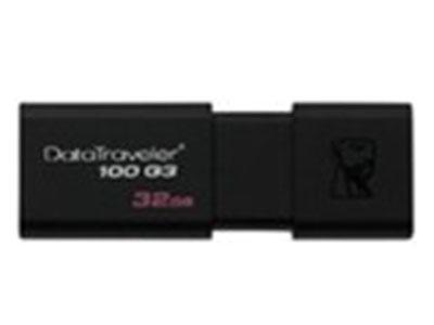 金士顿 DT100G3  推拉设计 USB3.0接口  16G 32G 64G 128G 256G