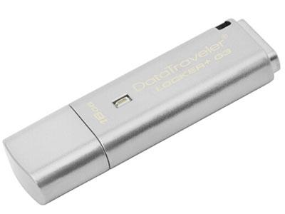 金士顿 DTLPG3 硬加密U盘 纯金属材质  16G 32G 64G 128G