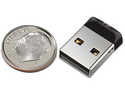 闪迪 CZ33 酷豆 USB 2.0 车载迷你 16G 32G 64G