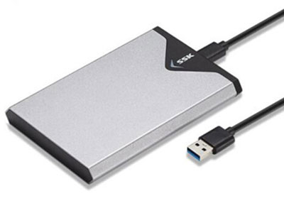 SSK飚王SHE-C310 2.5寸SSD及笔记本硬盘 极速TYPE-C接口