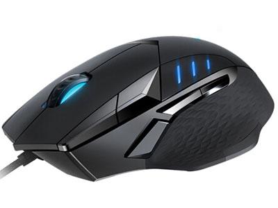 雷柏VT300 游戏鼠标 10键宏编程、带呼吸灯 5档可调最高6200DPI