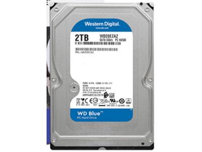 西部数据 台式机硬盘 1T 2T 4T 6T