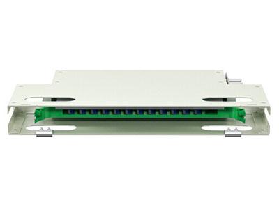 烽火 1U ODF光纤配线架子框机柜标准19英寸机架式1.2mm冷轧板电信级单元熔纤盘