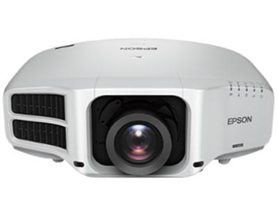 爱普生 CB-G7000W 无机液晶面板,1.6倍光学变焦镜头带位移,可更换6种镜头,零偏移的超短焦投射镜头;360度投影,竖直投影;升级的内置融合、几何校正和拼接边缘融合功能;全接口,带HDBaseT接口,带无线