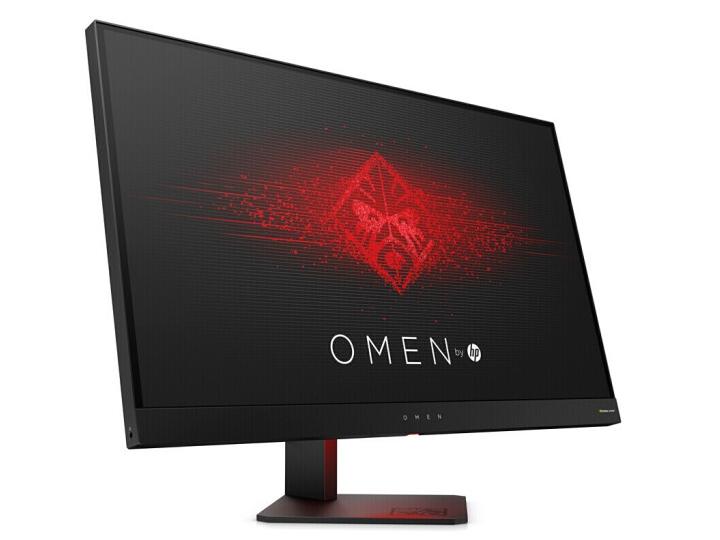 惠普(HP) 暗影精灵 光影精灵 窄边框 吃鸡游戏电竞 FHD分辨率 电脑液晶显示器 暗影Omen 25英寸 全高清屏 144Hz