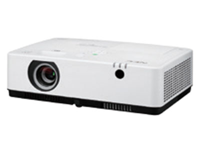 NEC  CA4200W 全新液晶教育投影机,冲突风冷系统,整机质保三年(含灯泡),双层过滤网超强防尘;自动节能模式;内置了3档色彩增强模式;无缝切换功能;无PC演示功能;背景色校正功能;全面支持桌面及移动设备的无线投影功能;内置四点校正功能及垂直和水平梯形校正;内置16W音箱;