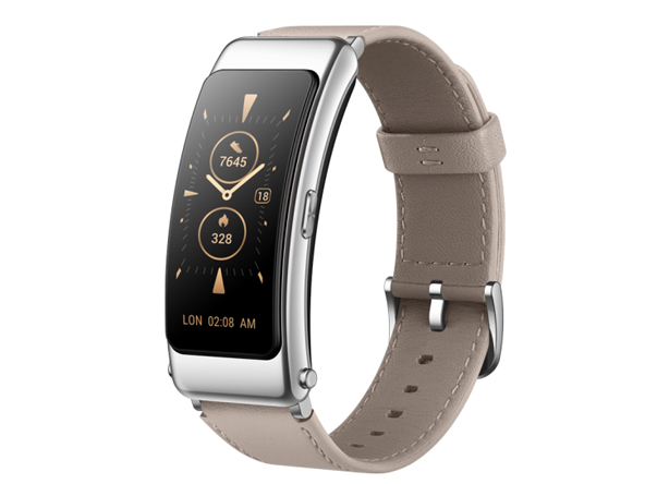 华为手环 B6 时尚版(山茶褐)智能通话手环 3D弧面触控彩屏 心率血氧监测睡眠分析