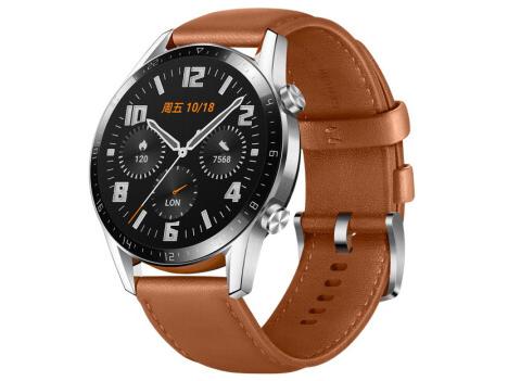HUAWEI WATCH GT2 (46mm)砂砾棕 商用华为智能手表