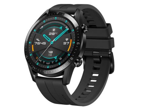 HUAWEI WATCH GT2(46mm)商用曜石黑 华为智能手表