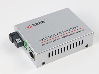 厚德纜勝  收發器 單纖百兆內置