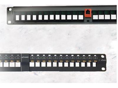 厚德纜勝 智能銅纜配線架 智能Keystone非屏蔽配線架