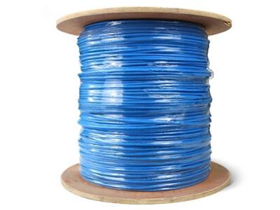 厚德纜勝 超六類非屏蔽網線 藍色 305/盤