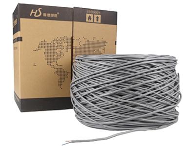 厚德纜勝 超五類非屏蔽網線 黃305米/箱