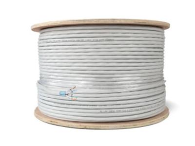 厚德纜勝 超六類屏蔽網線 灰色 305米/盤