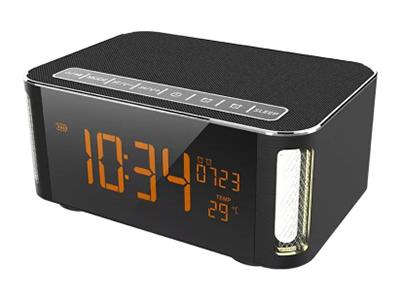 山水 H3 蓝牙免提通话 支持时钟、闹钟 触摸灯小台灯 全触摸按键 支持FM收音 支持播放TF卡 4000毫安电池