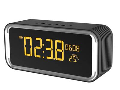 山水 H7 蓝牙免提通话 支持时钟、闹钟 触摸灯小台灯 全触摸按键 支持FM收音 支持播放TF卡 2000毫安电池