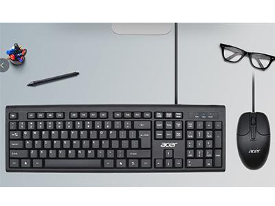 """宏碁 OAK960 """"""""""""1、时尚窄边、舒适磨沙颗粒,增加抗击打防护柱,经久耐用                             1、精心的改良了空格健及回车键,加大了尺寸,使用时弹性更强、触感更舒适,并且延长了它的使用寿命                          2、独特的静音技术,有效减少了键盘在使用过程中发出的噪音,为你营造了一个安静的工作环境                                   """"""""      """""""