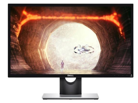 戴尔(DELL)显示器 23.6英寸 全高清 1毫秒响应 FreeSync技术 爱眼低蓝光 电竞游戏 电脑 显示屏幕 SE2417HGX