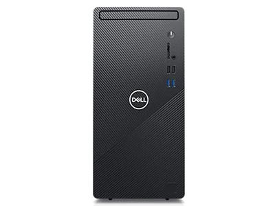 戴尔  灵越3880高性能台式机 (黑色) 高能版   精工设计 丰富接口 双硬盘存储