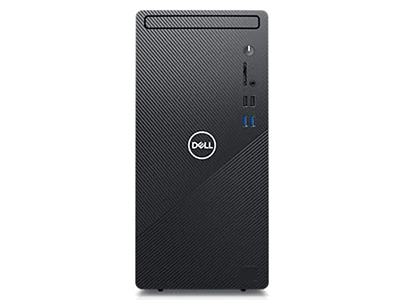戴尔  灵越3880高性能台式机 (黑色) 高能版  精工设计 丰富接口 512G固态硬盘