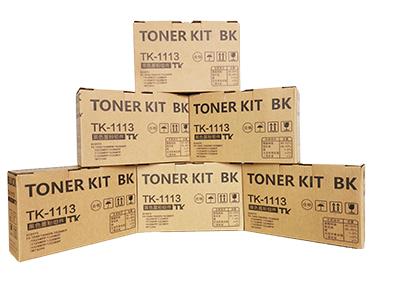 京瓷TK-1113粉盒 净重:80g 100g 打印张数:2000 2500适用机型:FS-1040 /1020/1120MFP/1125