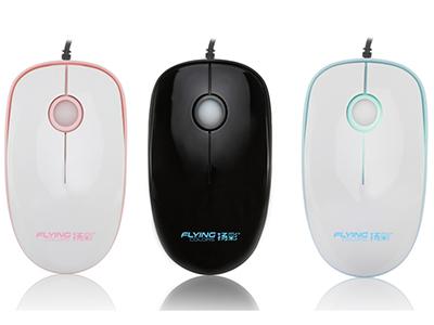 扬彩   169 3键静音鼠标1.人体工学设计2.  七彩渐变呼吸,LOGO镭雕3.  表面UV处理4.开口大包装5.独特的静音设计,商务办公笔记本最佳伴侣6.多种颜色可供选择