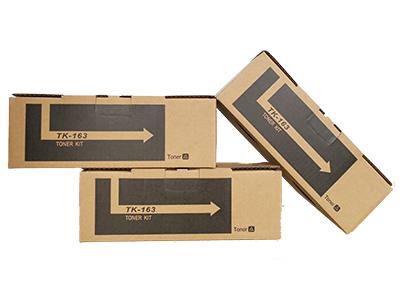 京瓷TK-163粉盒 净重:140g 打印张数:3500 适用机型:FS-P2035d/P2135DN