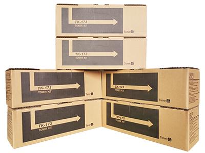 京瓷TK-173粉盒 净重:140g 打印张数:3500  适用机型:FS-1320D/1370D