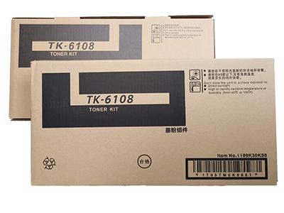 京瓷TK-6108粉盒  净重:500g 打印张数:18000 适用机型: TK-ECOSYS4028