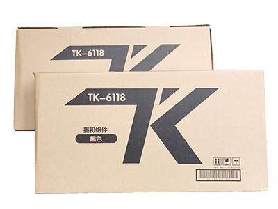 京瓷TK-6118粉盒 净重:500g 打印张数:18000 适用机型:KM-M4125idn