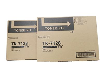 京瓷TK-7128粉盒 净重:800g 打印张数:24000  适用机型:KM-3212i