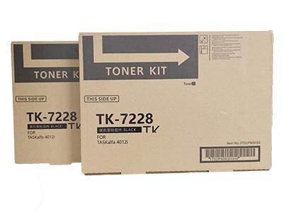 京瓷TK-7228粉盒   净重: 1000g 打印张数:42000  适用机型:KM-4012i