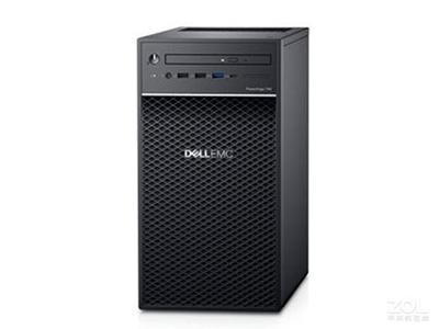 戴尔 T40(3背板)  至强四核E-2224G(3.4GHz)/8GB U/s/1TB 7.2K SATA 3.5桌面/DVDRW (上两块盘或者以上要开塑料架子)