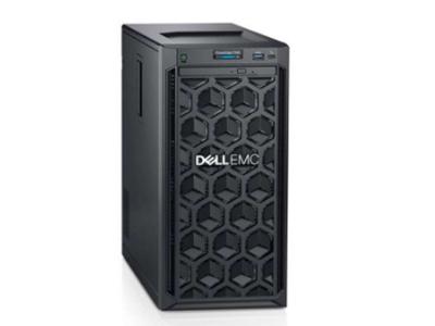 戴尔  T140(4背板)  至强四核E-2124(3.4GHz)/8GB 2666MT/s/1TB 7.2K SATA 3.5桌面/DVDRW (加RD卡上一根SAS线)+200