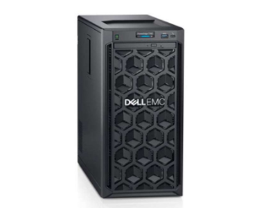 戴尔 T340(4背板)  至强四核E-2124(3.4GHz)/8GB 2666MT/s/1TB 7.2K SATA 3.5桌面/DVDRW/350W冷电(加RD卡上一根SAS线)+200