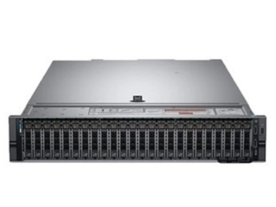 戴尔 R840(8背板)  至强十核5117*2(2.4GHz)/无内存/300G(SAS 15K 2.5)/H330/750W*2/无光驱/8背板2.5/3年7*24 (热插拔)