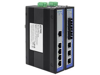宇泰 UT-6405M 5口百兆简易网管型以太网交换机