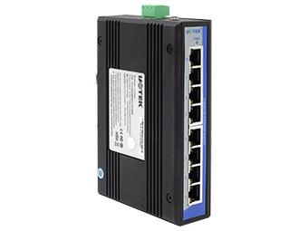 宇泰 UT-6408 8口百兆非网管型以太网交换机
